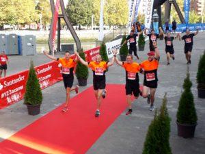 Gamesa Gearbox en la carrera  de la Ría y el maratón de Burgos ¡Gracias por participar!